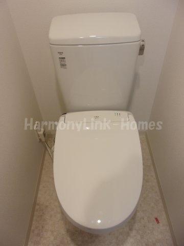 GENOVIA浅草橋Ⅱ skygardenの落ち着いたトイレです☆