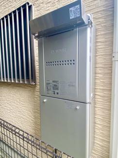 省エネガス給湯器エコジョーズ24号新調済です。