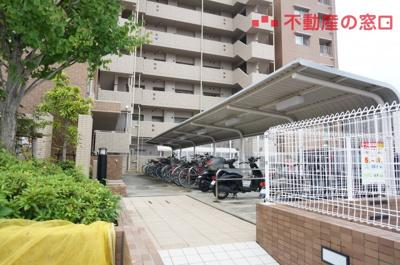 【駐輪場】リベール西神戸クイーンズ
