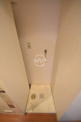 AIM21 洗濯機置き場