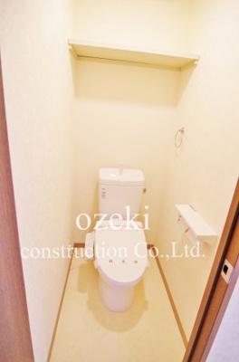 【トイレ】グランドムール北越谷