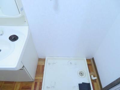 洗濯機置場 同タイプ別室の写真です※反転タイプ