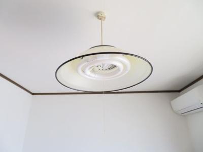 洋室の照明器具
