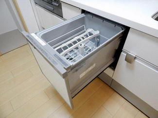食洗機付きで洗い物ラクラク!