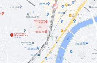 【地図】スカイコート鶴見第4