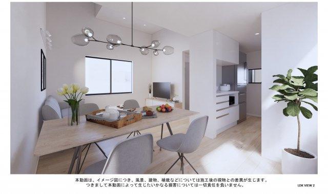 【完成予想図】早良区城西2丁目新築戸建 A号地