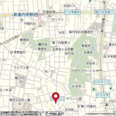 【地図】メゾン・ド・プリムヴェール