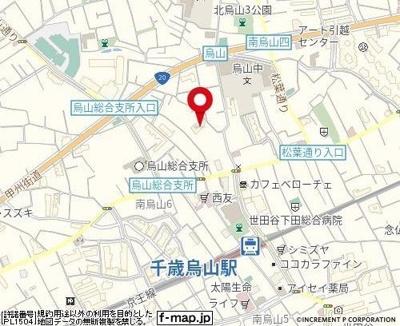 【地図】ラ・レジダンス・ド・アドラーブル