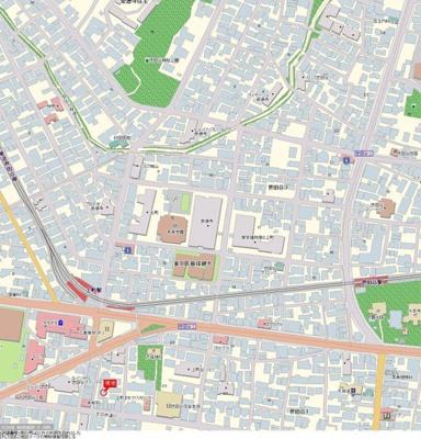 【地図】スカイコート世田谷第4