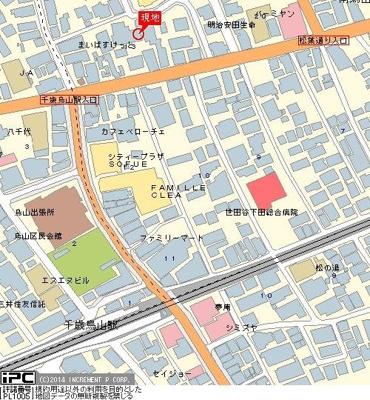 【地図】スターホームズ千歳烏山