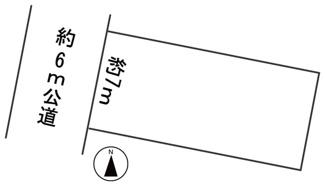 【区画図】56754 岐阜市則武中土地