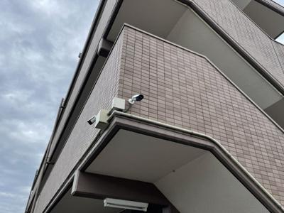 安心の防犯カメラ