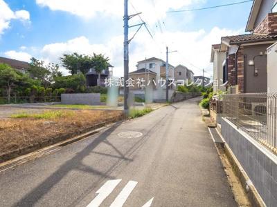 【前面道路含む現地写真】我孫子市青山台20-3期 新築戸建 2号棟