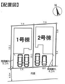【区画図】我孫子市青山台20-3期 新築戸建 2号棟