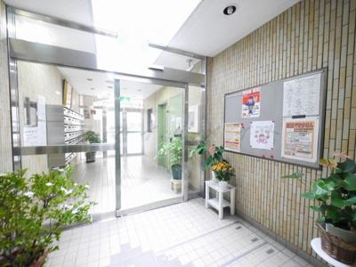 【ロビー】関内ロイヤルガーデン~仲介手数料無料キャンペーン~