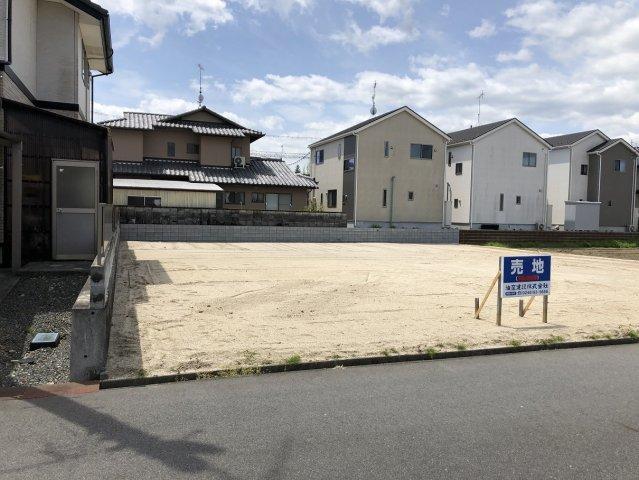 【前面道路含む現地写真】錦町江栗1丁目 売地全2区画 区画B