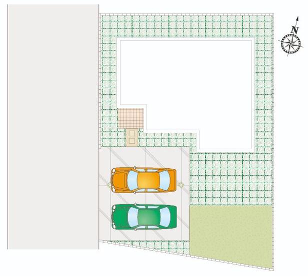 C号棟 カースペース2台以上可能です。本日、建物内覧できます(^^)/住ムパルまでお電話下さい!