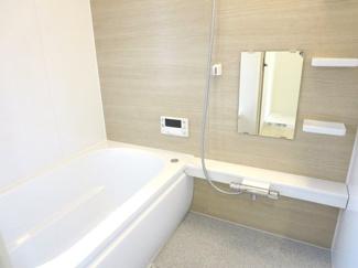 浴室に窓があり換気も安心