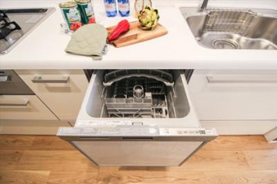 キッチンには食洗器付