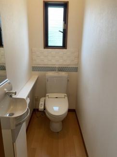 【トイレ】大村市富の原1丁目 平屋建て 中古戸建住宅
