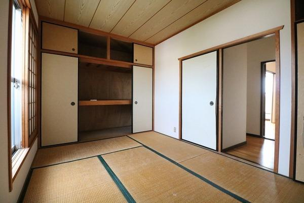 2階6帖和室♪