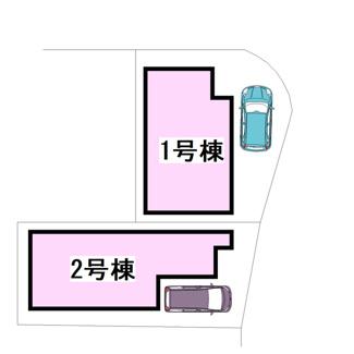 【区画図】茨木市西福井2丁目