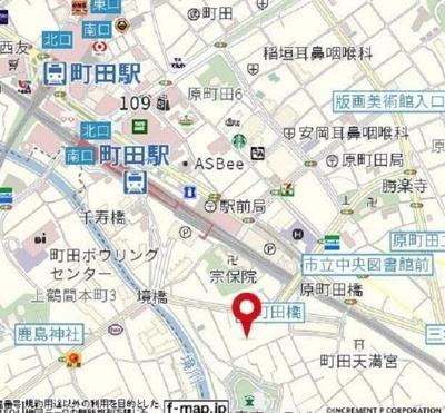 【地図】Mハイツ