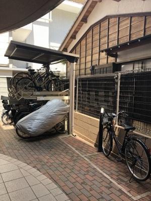 【駐輪場】マイキャッスル千駄ヶ谷