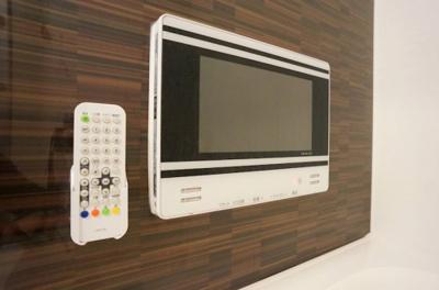 浴室TV付き