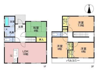 岐阜市茜部寺屋敷 中古住宅 リフォーム済み すぐに新しい生活が始められます♪お車並列3台可能!