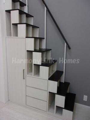 ハーモニーテラス志茂Ⅺの収納階段