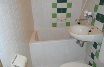 【浴室】ハイシティ代々木公園