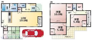 建物参考価格 1,580万円 107.7平米 参考間取り図 お気軽にご連絡下さいませ。