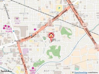 【地図】アーバンライフサンコー