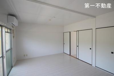 【居間・リビング】ビレッジハウス堀1号棟