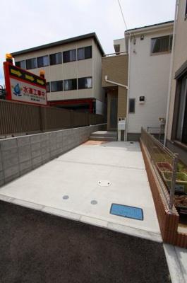 駐車場の用意があります:建物完成しました♪毎週末オープンハウス開催♪三郷新築ナビで検索♪