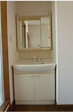 うれしい独立洗面台付き