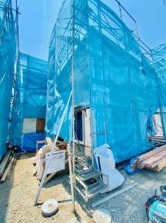 【外観】新築分譲住宅 赤羽根 ゆったりくつろげる広々リビング♪