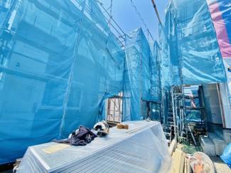 【外観】新築分譲住宅 赤羽根 2階LDKで陽当り風通し共に良好です♪