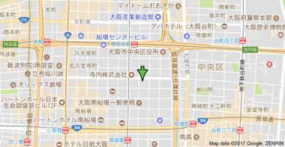 【地図】セントアミール南久宝寺