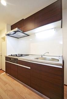 【キッチン】茅ヶ崎市ひばりが丘一棟アパート