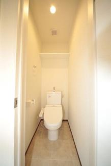 【トイレ】茅ヶ崎市ひばりが丘一棟アパート
