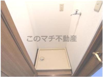 ※別号室の写真になります。現況優先。 室内洗濯機置場