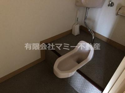 【トイレ】鵜の森1丁目店舗U