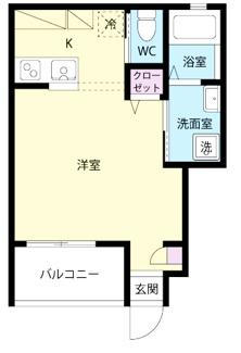 【間取り】茅ヶ崎市ひばりが丘一棟アパート