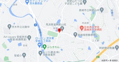 【地図】高津二戸一