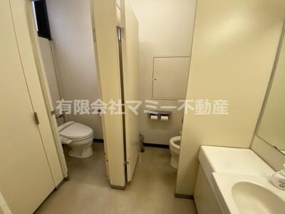 【トイレ】浜田町オフィスビルK