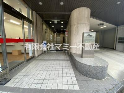 【エントランス】浜田町オフィスビルK