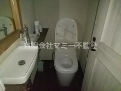 【トイレ】羽津町店舗W