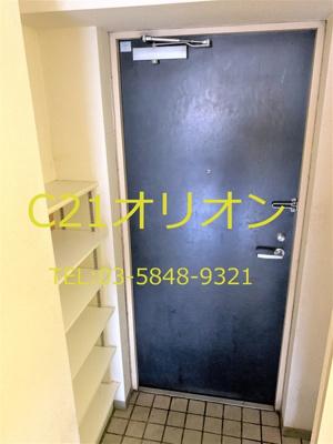 【玄関】グランヴェル中村橋(ナカムラバシ)-4F
